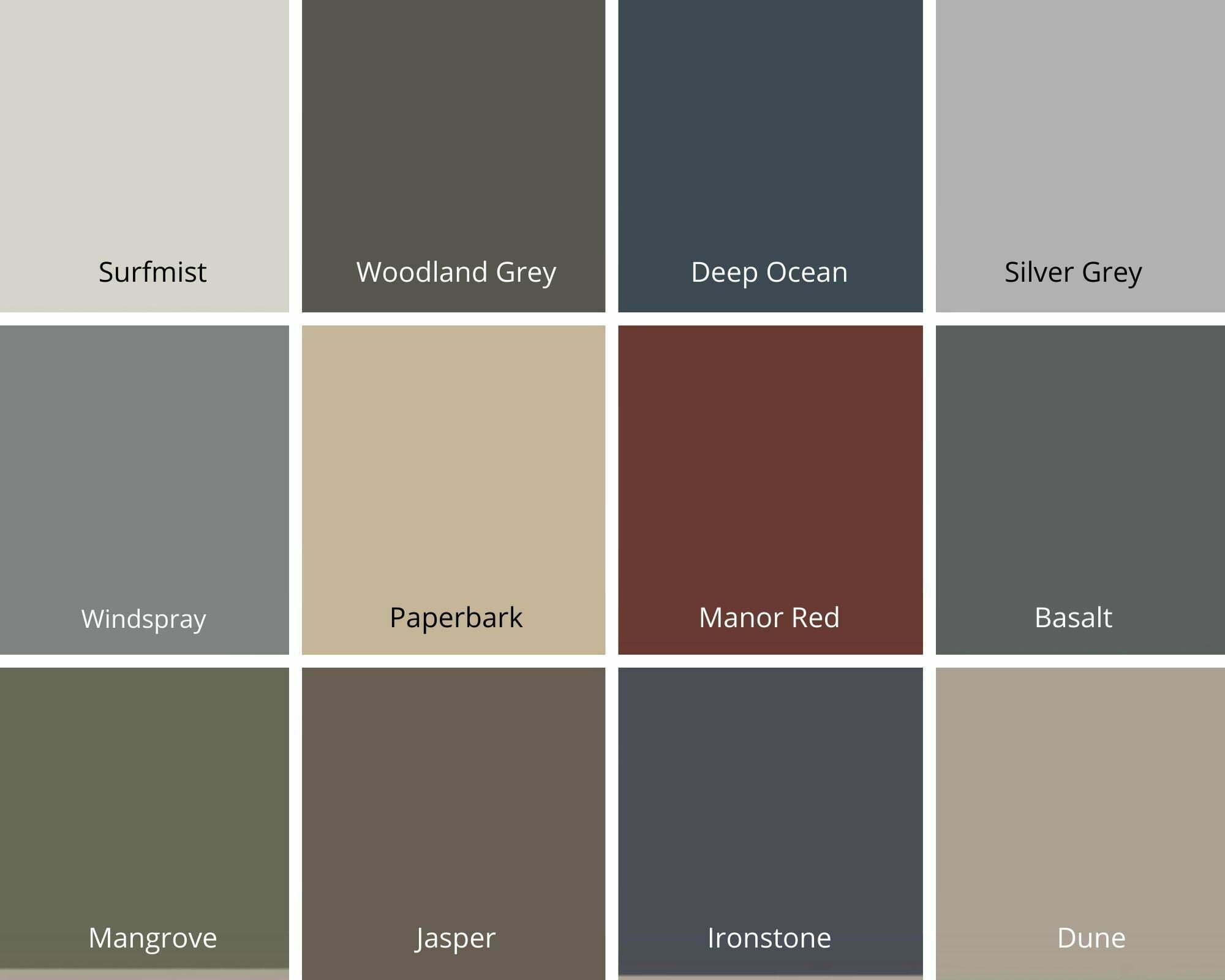 Non standard colour choice images
